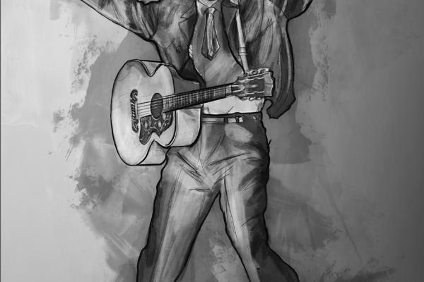 Dimitri Garcia - Illustration - Elvis in Jordans3